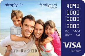 Simply Life Family card